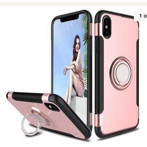 Apple iPhone XS Max Shockproof case ring&kickstand